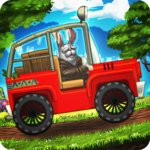 Angry Bunny Race: Jungle Road v3.4 (MOD, много денег)