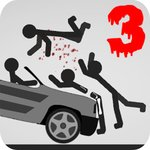 Stickman Destruction 3 Heroes v1.04 (MOD, неограниченно монет)
