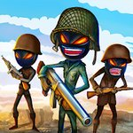 Stickman Royale : World War Battle v1.4 (MOD, неограниченно монет)