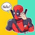 Deadpool WAstickerapps - chat stickers v2.0