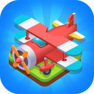 Merge Plane - Click & Idle Tycoon v1.19.2 (MOD, Unlimited money)