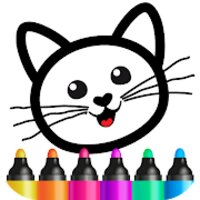 Bini Coloring Games for kids 3 years preschoolers! v3.0.1.1 (MOD, Unlocked)